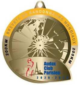 Medalla BRM 200 2020-2023